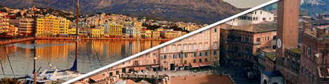 Commonalities across borders: Observations from Chios (Greece) and Siena (Italy)
